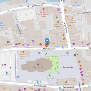 Weltladen Lippstadt auf Openstreetmap
